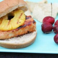 Grilled Hawaiian Chicken Sandwiches