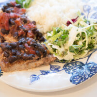 Grilled Southwest Pork Chops