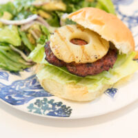 Grilled Turkey Teriyaki Burgers
