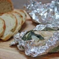 Grilled Sage Chicken Packets