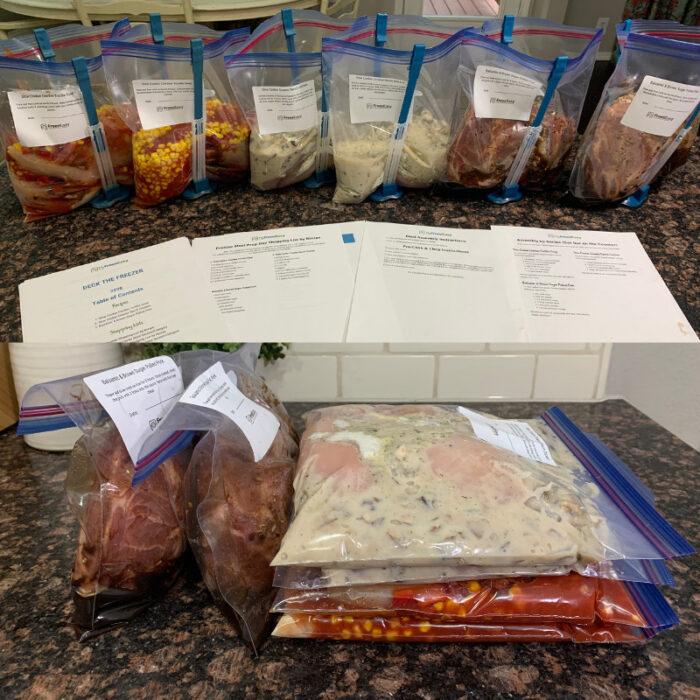Photo Tutorial: Deck the Freezer Meal Prep