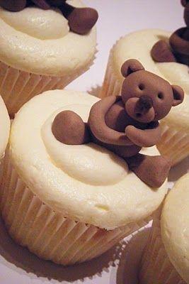 Teddy-bear-Cupcakes