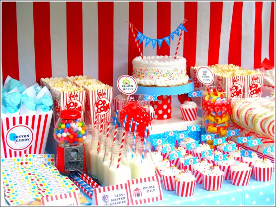 Birthday-Circus Party-Buffet