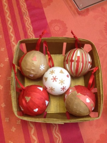 DIY All Christmas Balls Ornaments