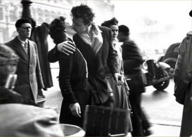 Doisneau - French kiss
