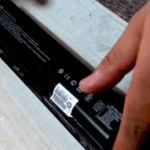 Removing your laptop battery