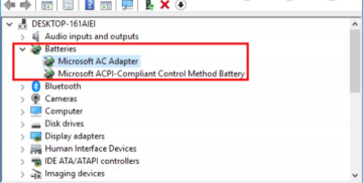 Microsoft Battery driver