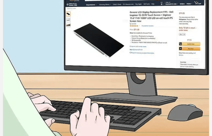 Buy a replacement screen online