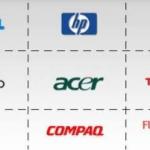 Laptop brands: Apple, HP, Acer, Del