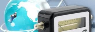 Test broadcasting signal strength