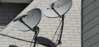 Directv Satellite Dish mast