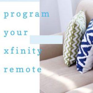Program xfinity remote