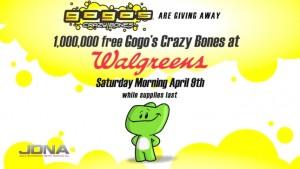 De En Abril GratisJuguetes Este Crazy Gogo's 9 Bones Walgreens n0wkO8P
