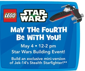 free star wars event toys r us