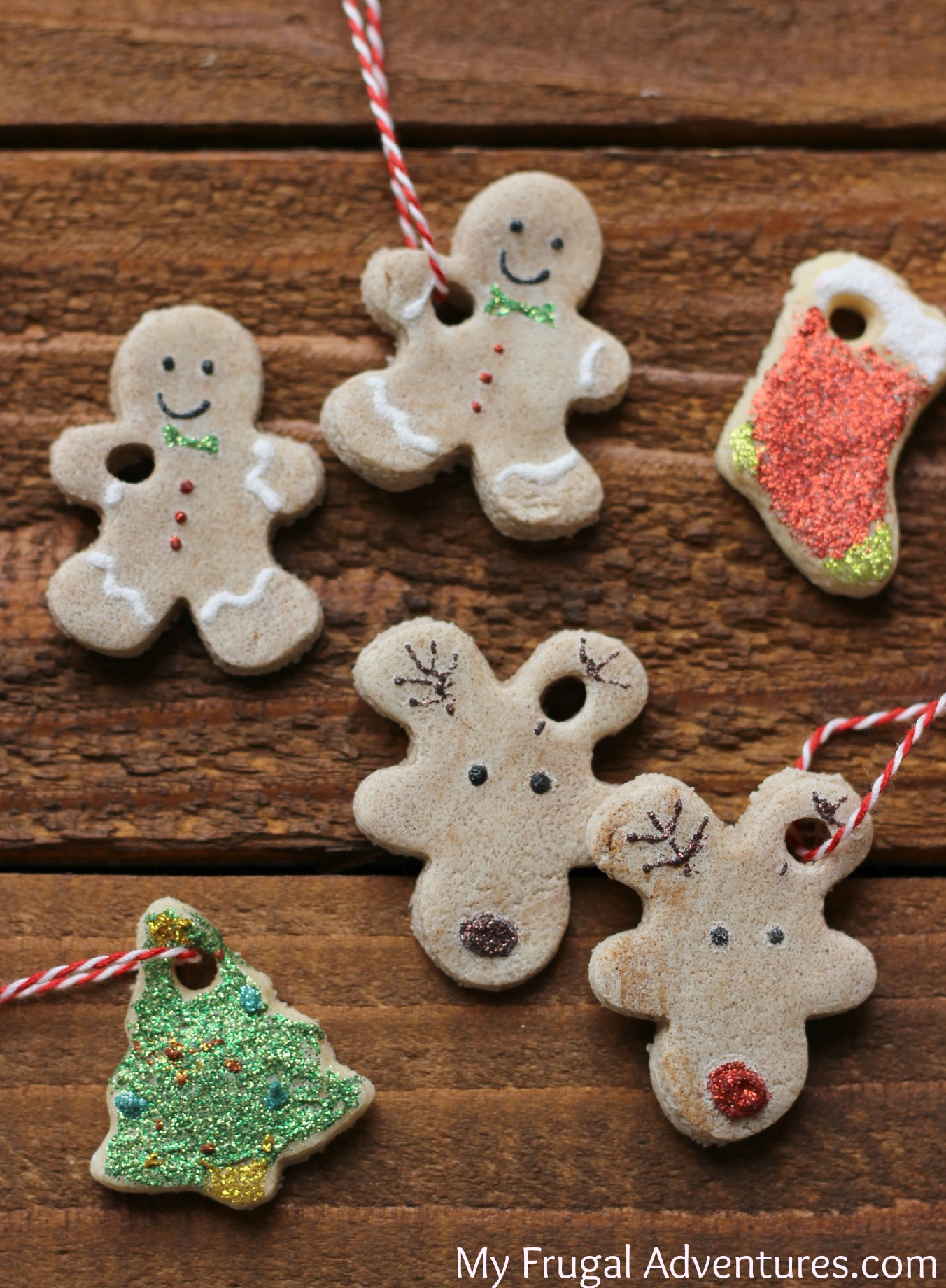 Easy Salt Dough Ornaments Perfect Holiday Craft For Kids