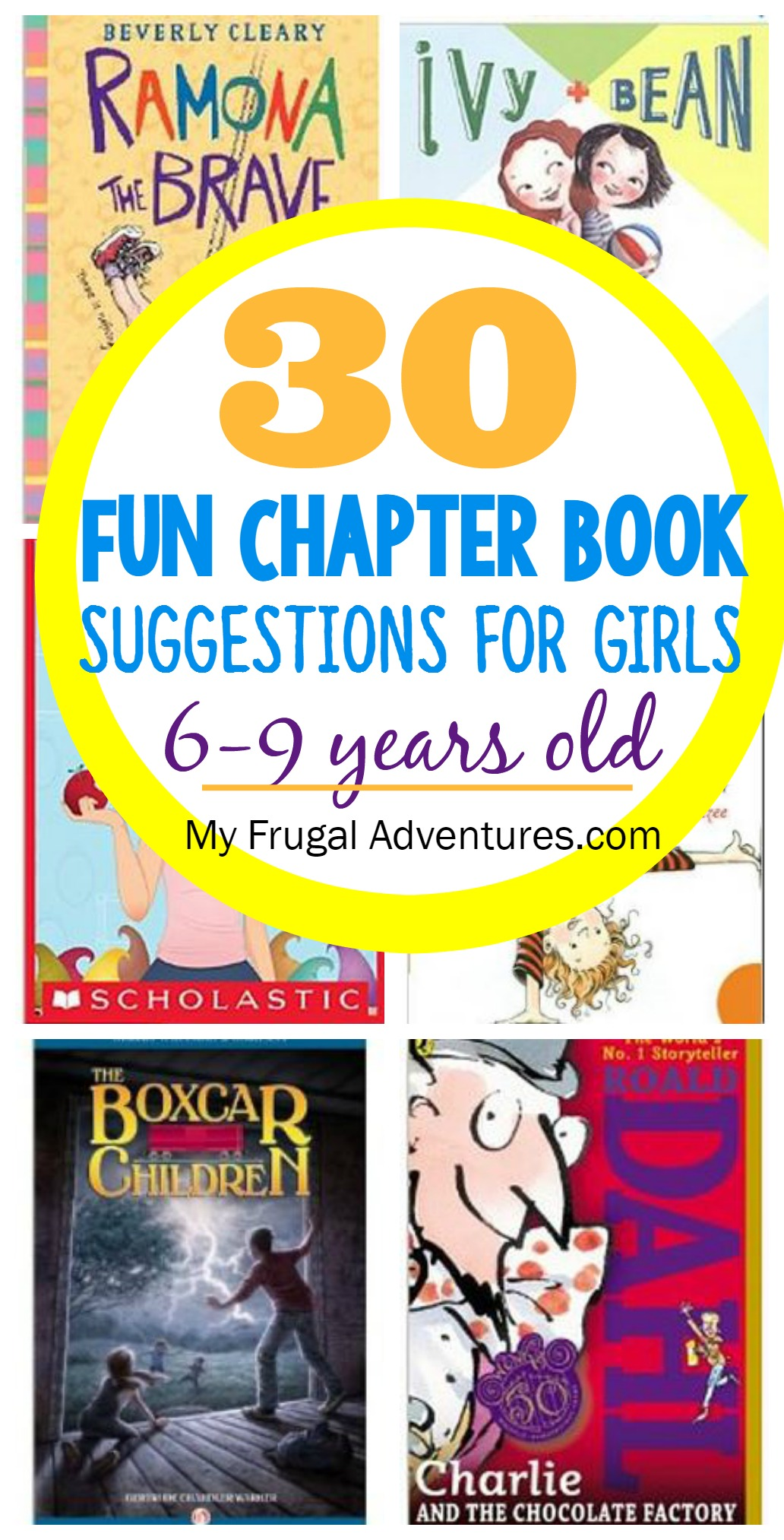 Chapter Book Suggestions For Girls 6 9