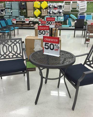 Target  Outdoor Furniture Clearance 50 70  off   My Frugal Adventures target clearance