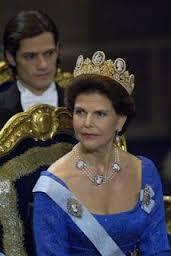 Queen Silvia Cameo tiara gift from Napoleon to Empress Josephine