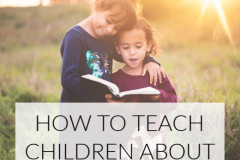 how to teach your children about jesus