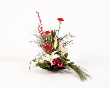 Contemporary Christmas Arrangement In Hutchinson KS Don