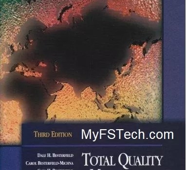 Total Quality Management Book By Dale H. Besterfield PDF