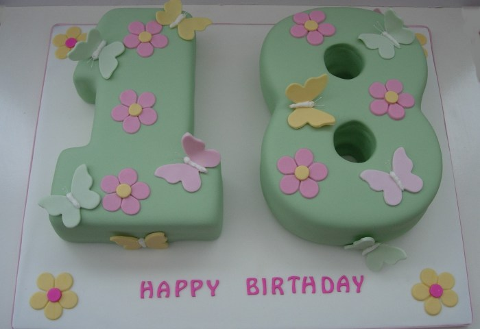 18th Birthday Cakes Fun Cakes