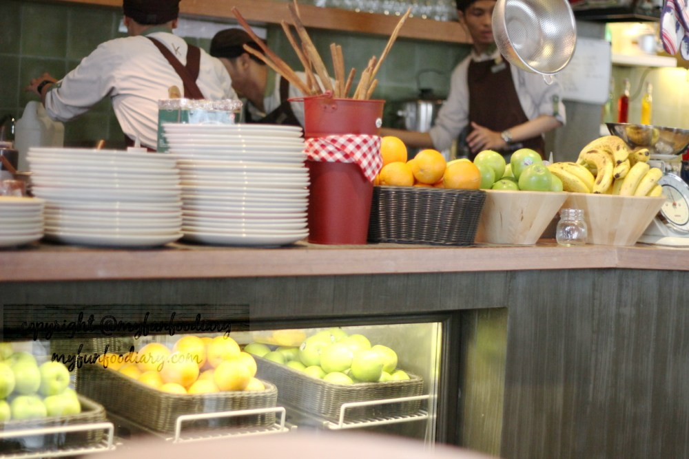 Kitchenette Central Park Mall : Good Food & Cozy Ambience (2/5)
