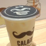 Mango Milk Tea at Calais Tea