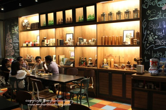 Smoking area di Opus Cafe Plaza Indonesia