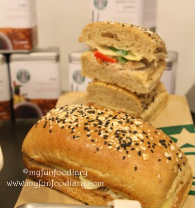 Tuna Cheese Whole Wheat Panini Starbucks
