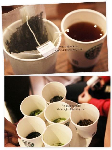 Tea Tasting at Starbucks