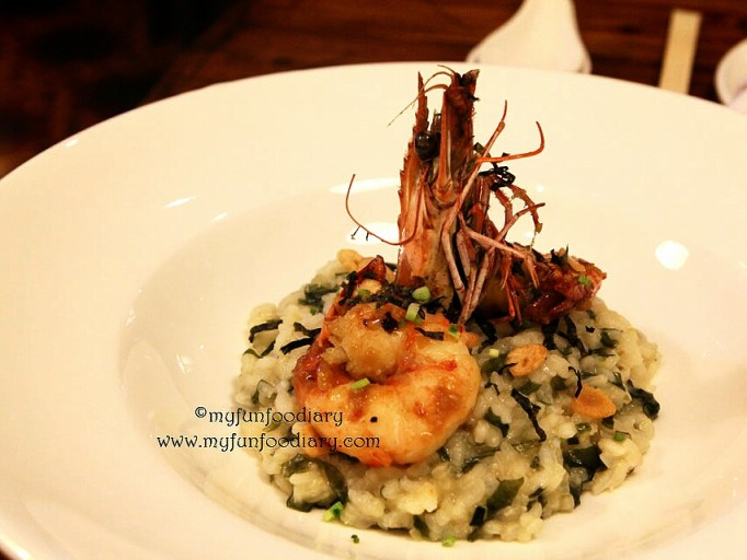King Prawn & Seaweed Risotto