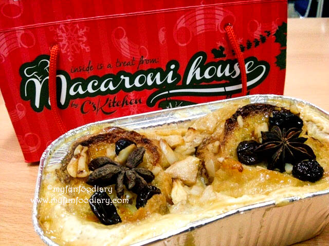 Bread Pudding Classic by Macaroni House