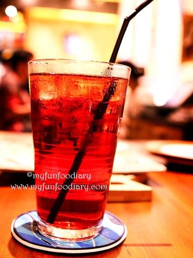 Ice Blackcurrant Tea