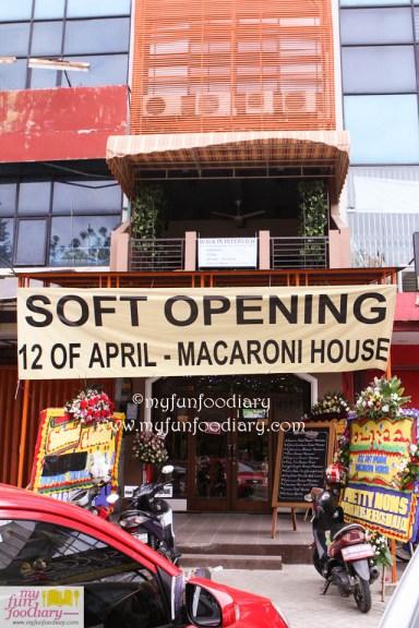 Soft Opening Macaroni House