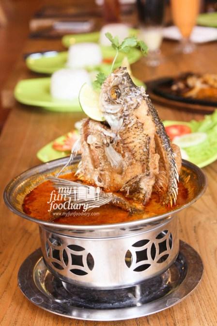 Gurame Goreng Kuah Thailand
