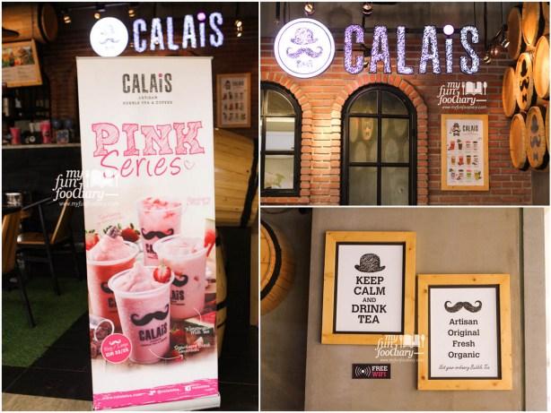 Suasana di Calais Tea Mall Alam Sutera