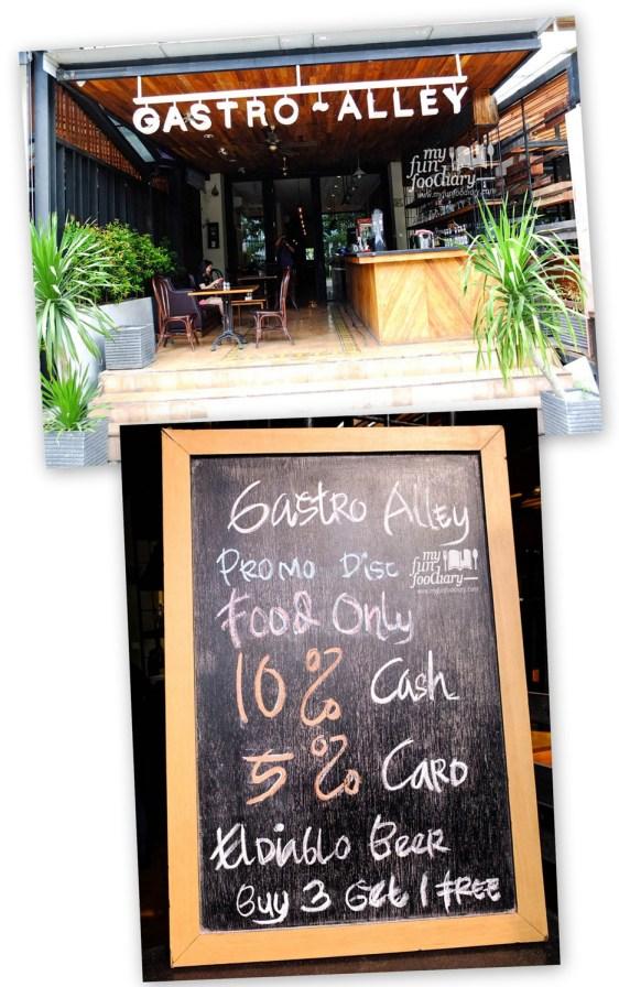 Tampak Depan Resto Gastro Alley