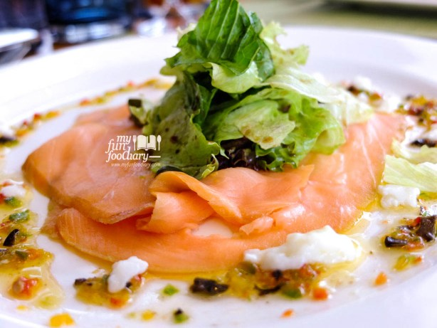 Smoked Salmon Carpaccio