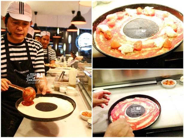 Behind the Scene in making Leggera Pizza