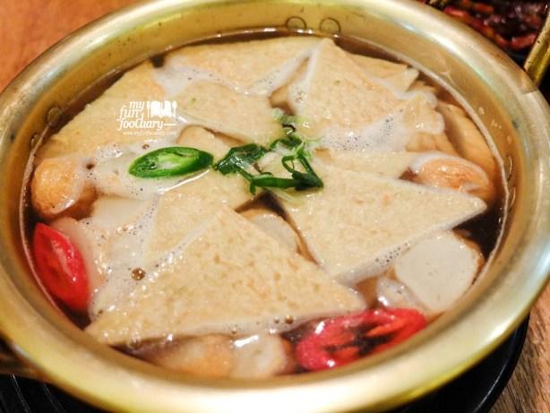 Seafood Cake Soup