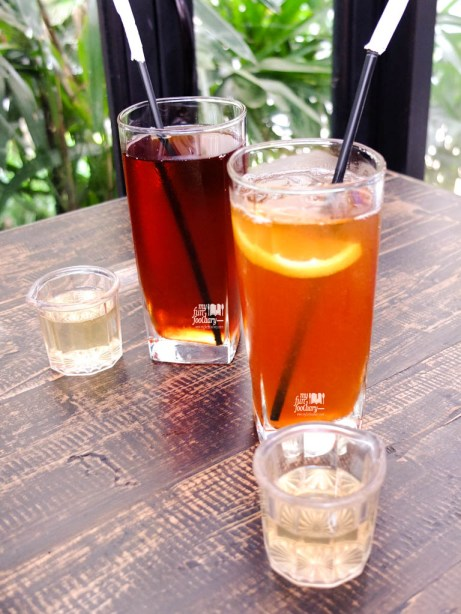 Iced Tea & Iced Lemon Tea