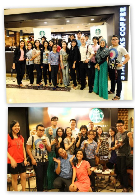 Family Pic Starbucks