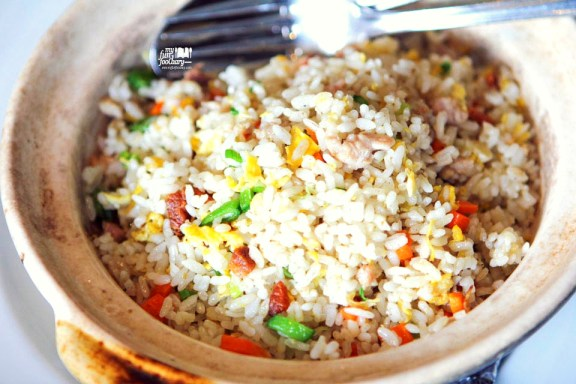 Wok Fried Rice with Diced Chicken & Salted Fish
