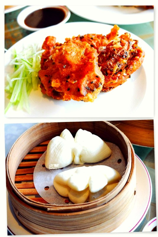Soft Shell Crab with Steamed Bun
