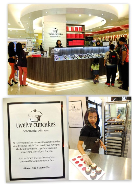 Counter Twelve Cupcakes CP