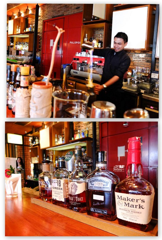 Bartender attraction at Canteen