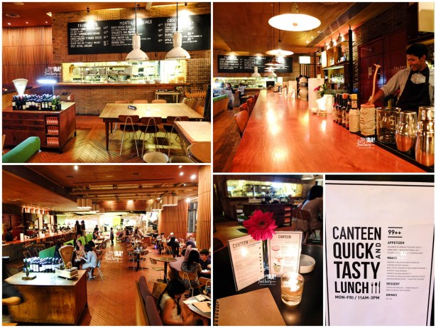 Cozy Ambience at Canteen Plaza Indonesia