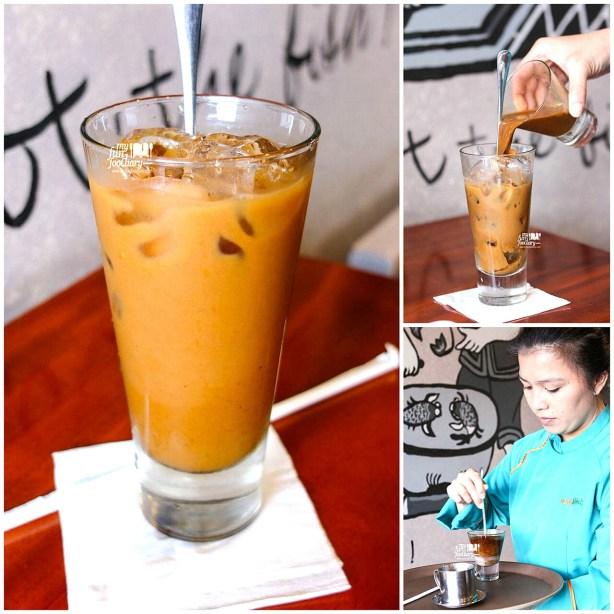 Hot Vietnamese White Coffee