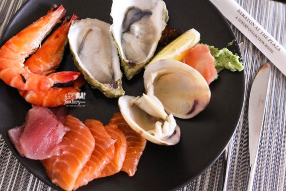 Fresh Oysters, Salmon, King Crab